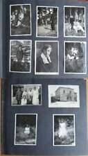 Altes Fotoalbum mit 90 Fotos (1920er Jahre?) Portraits, Kinder, Frauen, ...