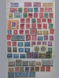CINDERELLA CANADA, lot revenues and stamps used as revenue, mixed quality