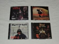 CD LOT EAZY-E 187UM KILLA EAZY DUZ IT STR8 OFF; BONE THUGS-N-HARMONY ART OF WAR
