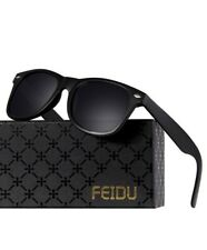 New listing Sunglasses Women Men Retro Frame Polarized Fashion Style Glasses Vintage New Rou