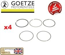 4x GOETZE ENGINE CYLINDER PISTON RINGS KIT FORD FOCUS MK2 C-MAX MONDEO MK3 1.8