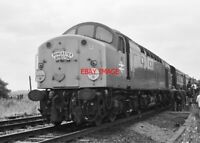 PHOTO  CLASS 40 DIESEL LOCO NO 40031 AT MEXBOROUGH DONCASTER DIRECTOR RAILTOUR
