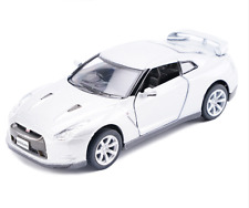 Model Cars Nissan GTR R35 5 Inch Alloy Diecast 1:36 Toys Collection Gifts White
