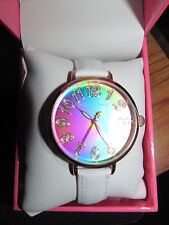 Betsey Johnson rainbow watch BJ00633-05  New in box