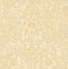 Painted Flowers Sand Nude Cream Nude Double Roll Wallpaper