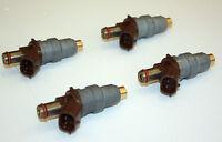 4 FUEL INJECTORS for TOYOTA Prado J90 HILUX RZN HIACE RCH 3RZ-FE 2.7L 3RZFE RZJ