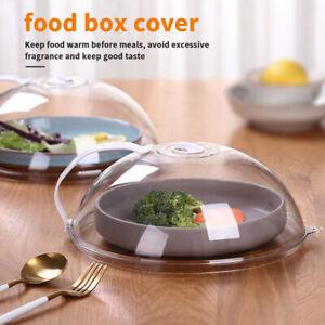 Microwave Food Plate Dish Cover Kitchen Cooking Transparent Anti-splash Cap