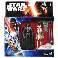 Star Wars Rebels Action Figures Darth Vader and Ahsoka Tano Space Mission