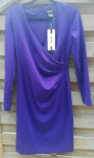 DKNY BODYCORN Indigo DRESS  SIZE: UK12, NEW