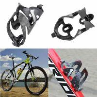 Fibra  carbono portabidones MTB Bicicleta  jaula estante Titular Botella de agua