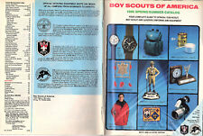 Boy Scouts of America 1986 Springl/Summer Catalog Uniforms Equipment Gifts
