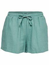 855/1 NEU ONLY Damen Leinen Hose Hotpant onlSUMMER LINEN STRING SHORTS  Gr. M