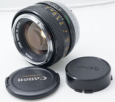 Canon FD SSC 55mm  f1.2 fast manual focus lens. Great Bokeh !  Recently CLA'd !