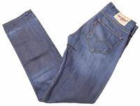 LEVI'S Mens Jeans W30 L34 Blue Cotton Slim  LI10