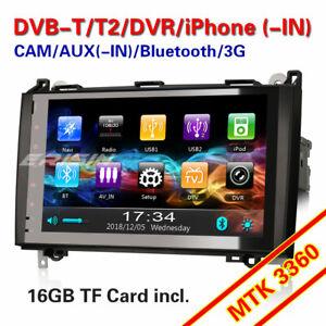 Car SatNav WiFi Bluetooth OBD2 DVB-T CAM USB Canbus Mercedes Vito Viano Sprinter