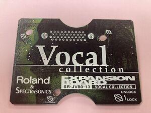Roland SR-JV80-13 Expansion Board Vocal Collection