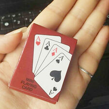 New PLASTIC Poker Size Good Playing Cards Excellent Family Play Game Free Ship