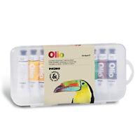 colori ad olio fine, 10 tubetti x 18 ml, MADE in ITALY, morocolor, primo