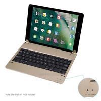 "Ultra Thin Wireless Bluetooth Keyboard for 2017 iPad 9.7"" Device iPad Air 1"