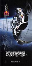 Felix Baumgartner, Red Bull stratosphärensprung ORIGINALE FIRMATO/SIGNED!!!
