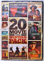 20 Movies Western Pack DVD John Wayne, James Caan, Kevin Sorbo