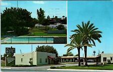 CASA GRANDE, Arizona  AZ    Roadside  LA SIESTA MOTEL   1964 Postcard