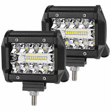 2X 48W SPOT LED Off road Work Light Lamp 12V 24V car boat Truck Driving UTE BDY