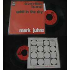 MARK JUHNS - Traveling Band Rare French PS Monster Psych Blues W/Languette