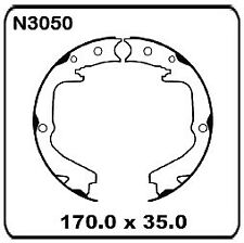 for Subaru Liberty/Legacy GT & L Models 2000 on REAR Handbrake Shoe SET N3050