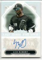 MLB Card 2020 Luis Robert Topps Five Star Auto Chicago White Sox 12/25