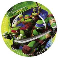 Ninja Turtles fiesta Cumpleaños gama (vajilla y Decoraciones) 2016 Amscan 8 X platos de papel 23 cm
