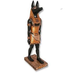 Anubis 3ft Ancient Egyptian Statue Egyptian Art Decor Statue Figurines Anubis