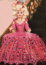 "Crochet Doll French MARIE ANTOINETTE 7"" Clothes Pattern"
