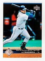 Jeff Bagwell #83 (1997 Upper Deck) Baseball Card, Houston Astros, HOF