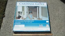 Cardinal Gates AutoLock Pressure Gate Model PG35 White 29-33.25