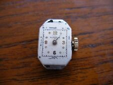 Alprosa swiss 15 jewel watch movement working