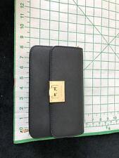 Michael Kors Tina Convertible Double Wallet Clutch Saffiano Crossbody Bag