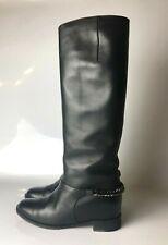 Christian Louboutin Cate Boot Flat Calf Chain Boots Euro 37.5