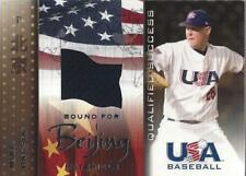 2006-07 Usa Baseball Bound for Beijing Game Used #3 Mike Bacsik jersey - Nm-Mt
