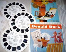 View Master View-Master reels Bildscheiben 1957 Donald Duck Flying Saucers UFO