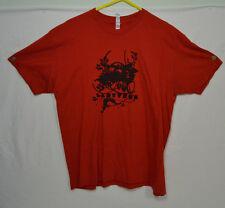 Ladytron Red T-Shirt XL Electroclash Electronic Indie Dance Vintage 2000s