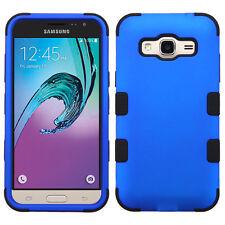 Hybrid Shockproof Tuff Hard Case For Samsung Galaxy Phones J3V J7 Luna S7 Edge