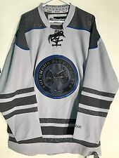 Reebok Premier NHL Jersey Columbus Blue Jackets Team Grey Ccheck sz 2X
