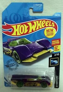Hot Wheels X-RAYCERS GRUPPO x24 purple HWGRFX 2019 - special feature spoiler -