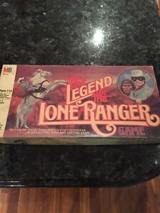 The Legend of the Lone Ranger Board Game Milton Bradley Vintage 1980 ~ COMPLETE