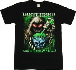 DISTURBED- TOXIC GLOBE Official T Shirt Mens Licensed Merch US Import Bravado