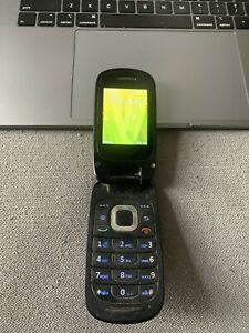 Huawei Envoy U3900 3G Consumer Cellular Flip Phone Black