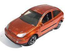 Matchbox #84 Ford Focus Orange Metallic Toy Car 1999 Worldwide Wheels China