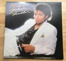 "MICHAEL JACKSON - ""Thriller"" 1982 Epic Vinyl LP Record! *EXCELLENT* King of Pop!"