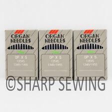 30  ORGAN 135X7 SIZE# 14 / 90 LOCKSTITCH NEEDLES 135X5 DPX7 134R